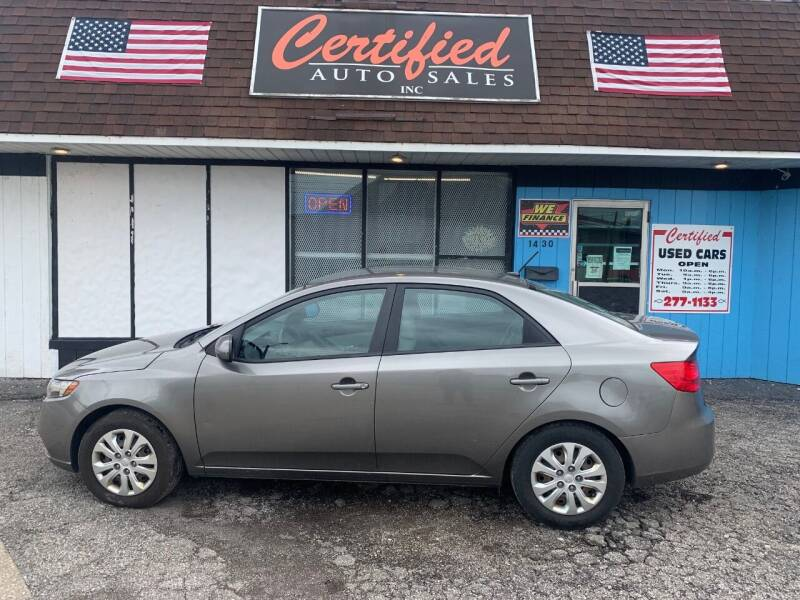 2011 Kia Forte for sale at Certified Auto Sales, Inc in Lorain OH