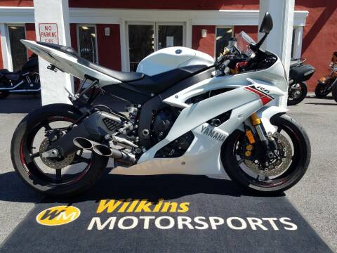 2015 Yamaha YZF-R6 for sale at WILKINS MOTORSPORTS in Brewster NY