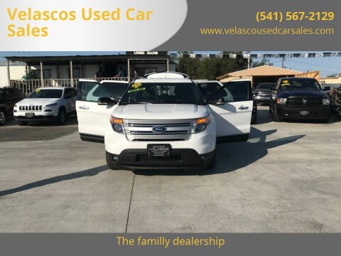 2015 Ford Explorer for sale at Velascos Used Car Sales in Hermiston OR