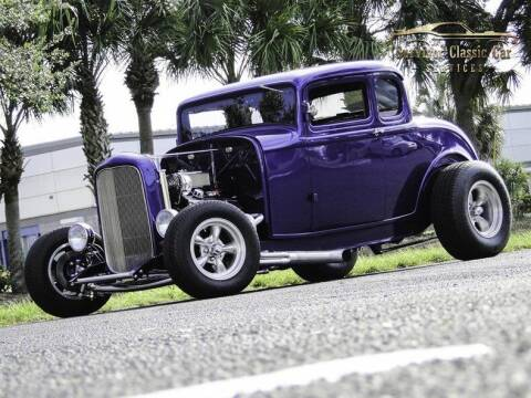 1932 Ford 5 Window for sale at SURVIVOR CLASSIC CAR SERVICES in Palmetto FL