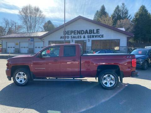 2018 Chevrolet Silverado 1500 for sale at Dependable Auto Sales and Service in Binghamton NY