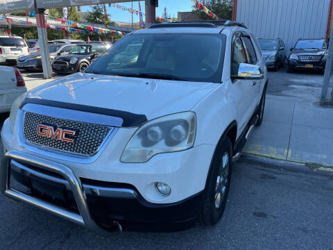 2008 GMC Acadia for sale at Gallery Auto Sales in Bronx NY