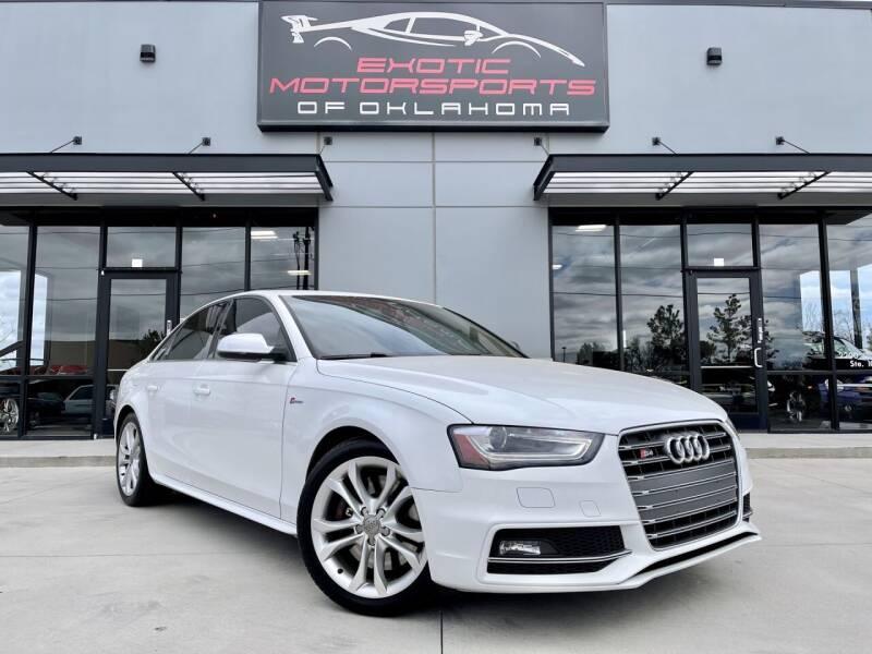 2015 Audi S4 for sale in Edmond, OK