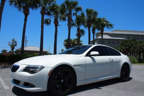 2010 BMW 6 Series for sale at Gulf Financial Solutions Inc DBA GFS Autos in Panama City Beach FL
