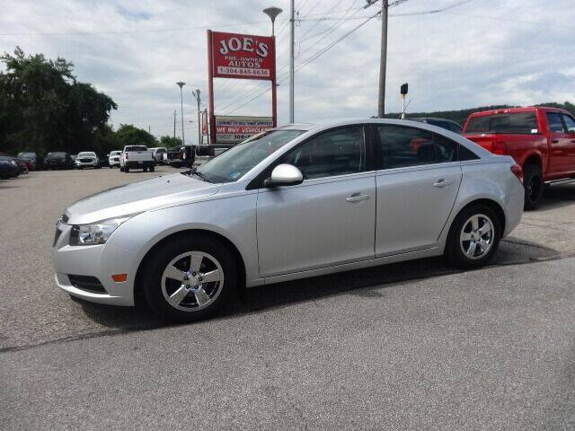 2014 Chevrolet Cruze for sale at Joe's Preowned Autos in Moundsville WV