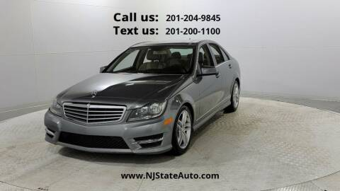 2013 Mercedes-Benz C-Class for sale at NJ State Auto Used Cars in Jersey City NJ