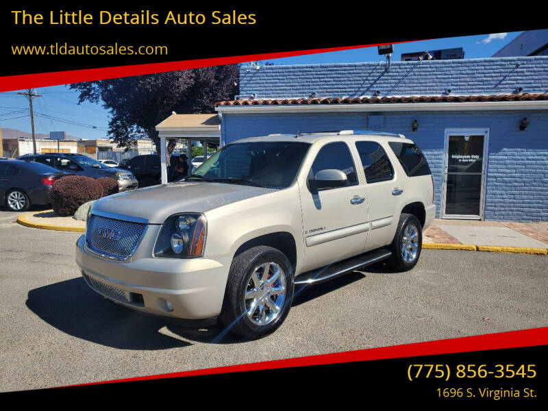 2007 GMC Yukon for sale at The Little Details Auto Sales in Reno NV