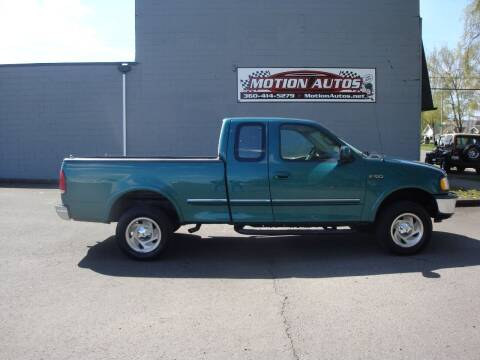 1997 Ford F-150 for sale at Motion Autos in Longview WA