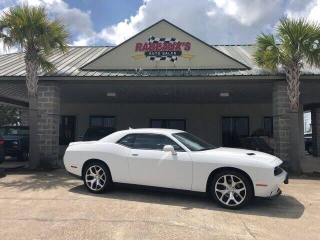 2015 Dodge Challenger for sale at Rabeaux's Auto Sales in Lafayette LA