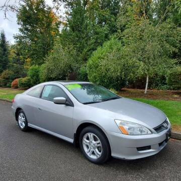 2007 Honda Accord for sale at Money Man Pawn (Auto Division) in Black Diamond WA