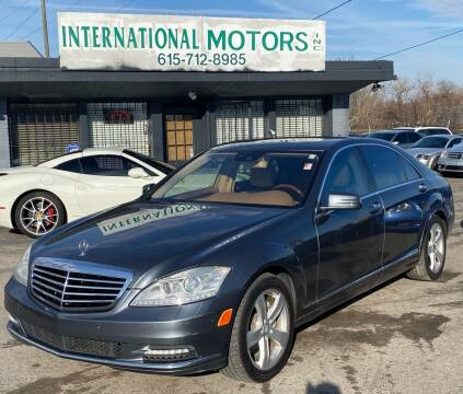 2010 Mercedes-Benz S-Class for sale at International Motors Inc. in Nashville TN