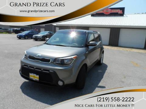 2014 Kia Soul for sale at Grand Prize Cars in Cedar Lake IN