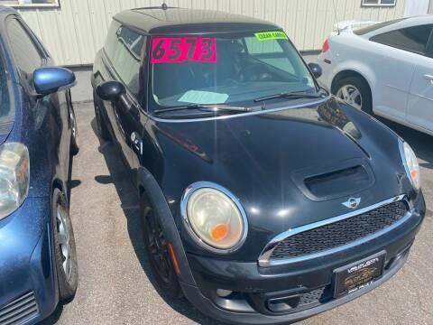 2011 MINI Cooper for sale at BELOW BOOK AUTO SALES in Idaho Falls ID