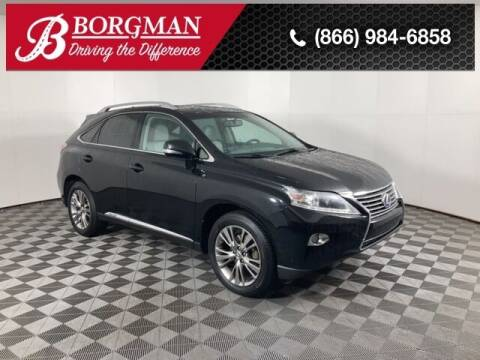 2013 Lexus RX 450h for sale at BORGMAN OF HOLLAND LLC in Holland MI