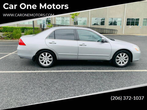 2006 Honda Accord for sale at Car One Motors in Seattle WA
