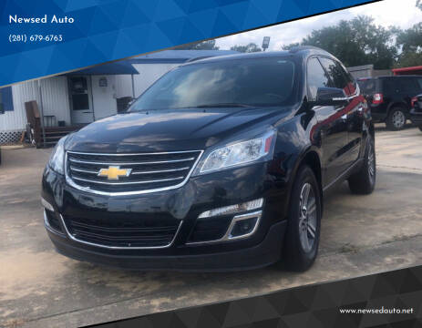 2016 Chevrolet Traverse for sale at Newsed Auto in Houston TX