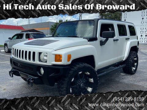 2007 HUMMER H3 for sale at Hi Tech Auto Sales Of Broward in Hollywood FL