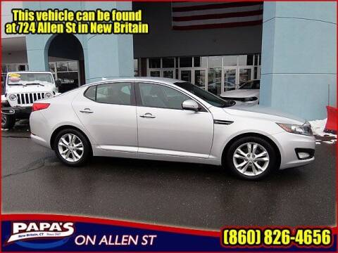 2013 Kia Optima for sale at Papas Chrysler Dodge Jeep Ram in New Britain CT