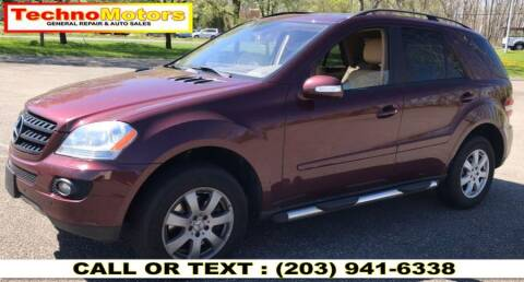 2006 Mercedes-Benz M-Class for sale at Techno Motors in Danbury CT