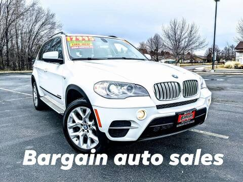 2013 BMW X5 for sale at Bargain Auto Sales LLC in Garden City ID