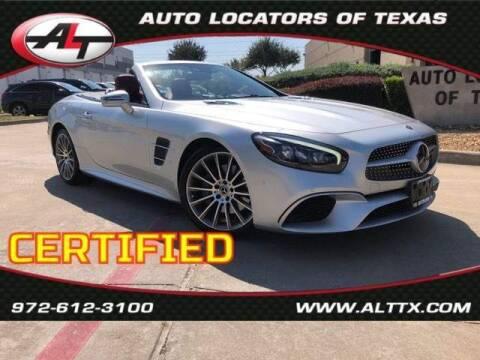 2018 Mercedes-Benz SL-Class for sale at AUTO LOCATORS OF TEXAS in Plano TX