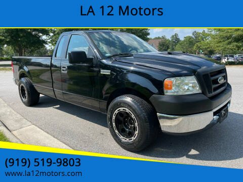 2008 Ford F-150 for sale at LA 12 Motors in Durham NC