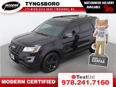 2017 Ford Explorer for sale at Modern Auto Sales in Tyngsboro MA