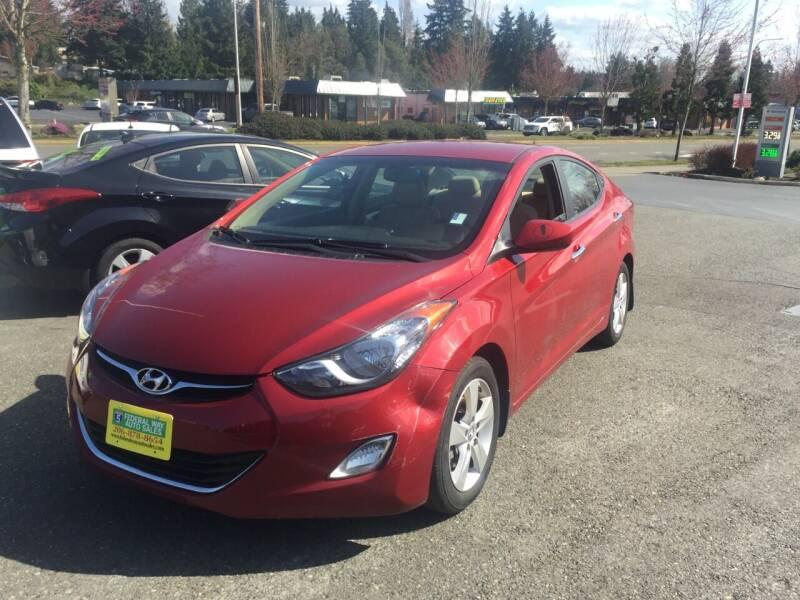 2013 Hyundai Elantra for sale in Federal Way, WA
