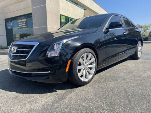 2018 Cadillac ATS for sale at AutoHaus in Colton CA