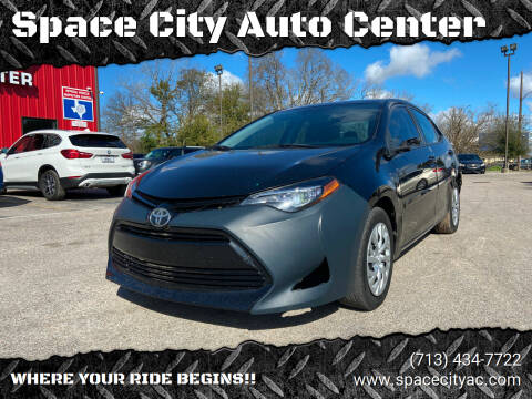 2017 Toyota Corolla for sale at Space City Auto Center in Houston TX