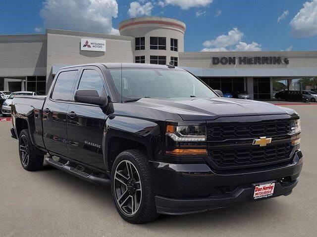 2018 Chevrolet Silverado 1500 for sale at Don Herring Mitsubishi in Plano TX