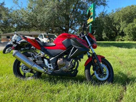 2017 Honda CB300F for sale at IMAGINE CARS and MOTORCYCLES in Orlando FL