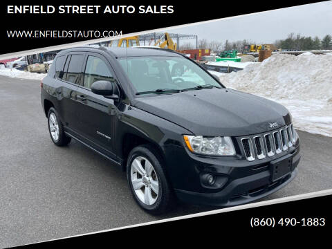 2013 Jeep Compass for sale at ENFIELD STREET AUTO SALES in Enfield CT