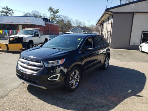 2016 Ford Edge for sale at Topham Automotive Inc. in Middleboro MA