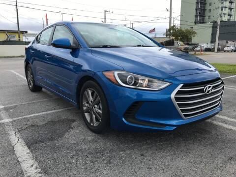 2018 Hyundai Elantra for sale at MIAMI AUTO LIQUIDATORS in Miami FL