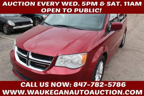 2016 Dodge Grand Caravan for sale at Waukegan Auto Auction in Waukegan IL