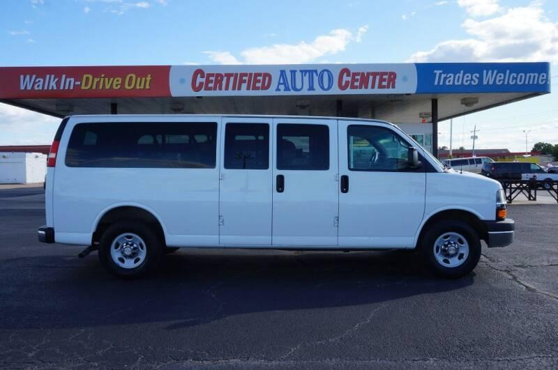 2014 Chevrolet Express Passenger LT 3500 3dr Extended Passenger Van w/1LT - Tulsa OK