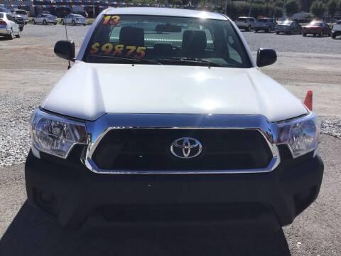 2013 Toyota Tacoma for sale at K & E Auto Sales in Ardmore AL