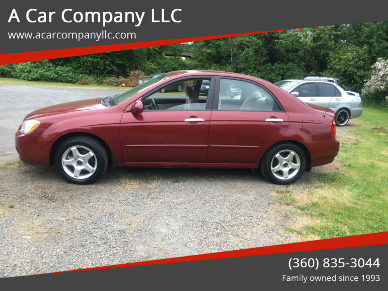 2005 Kia Spectra for sale at A Car Company LLC in Washougal WA