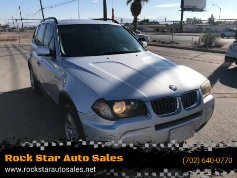 2006 BMW X3 for sale at Rock Star Auto Sales in Las Vegas NV