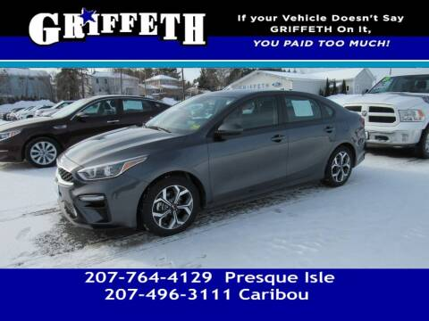 2019 Kia Forte for sale at Griffeth Mitsubishi - Pre-owned in Caribou ME