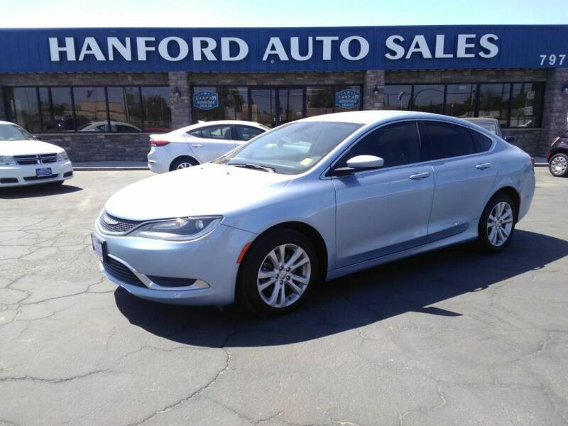 2015 Chrysler 200 for sale at Hanford Auto Sales in Hanford CA