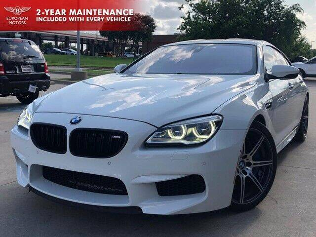 2017 BMW M6 for sale at European Motors Inc in Plano TX