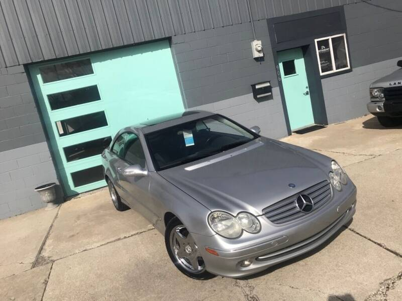 2003 Mercedes-Benz CLK for sale at Enthusiast Autohaus in Sheridan IN