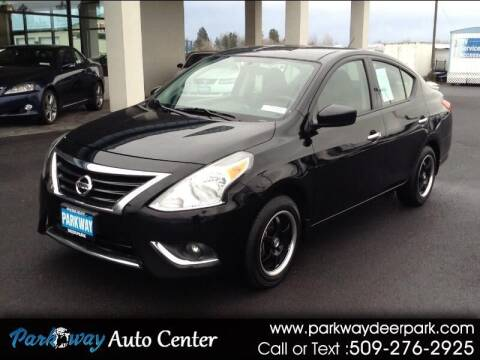 2016 Nissan Versa for sale at PARKWAY AUTO CENTER AND RV in Deer Park WA