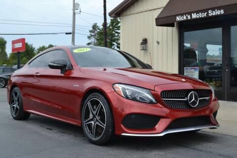 2017 Mercedes-Benz C-Class for sale at Nick's Motor Sales LLC in Kalkaska MI