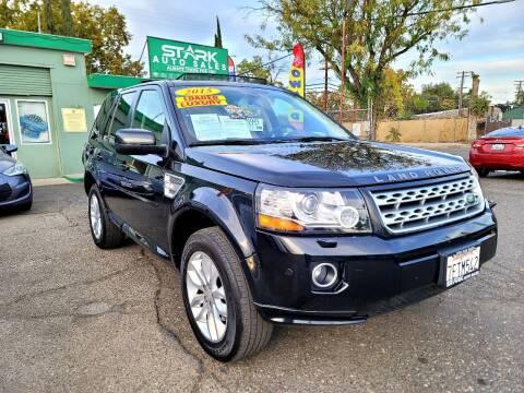 2015 Land Rover LR2 for sale at Stark Auto Sales in Modesto CA