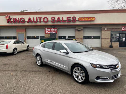 2019 Chevrolet Impala for sale at KING AUTO SALES  II in Detroit MI