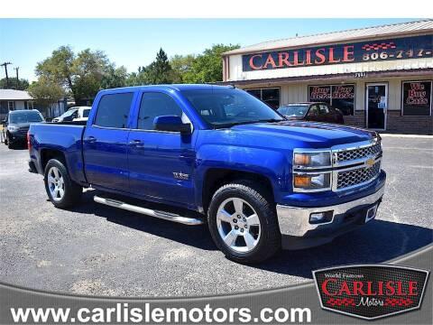 2014 Chevrolet Silverado 1500 for sale at Carlisle Motors in Lubbock TX