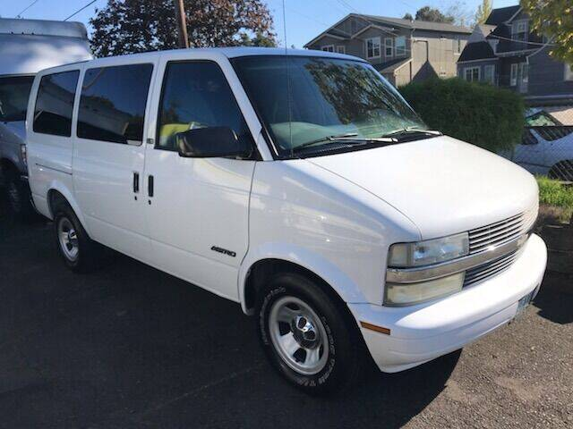 2002 Chevrolet Astro for sale at Chuck Wise Motors in Portland OR